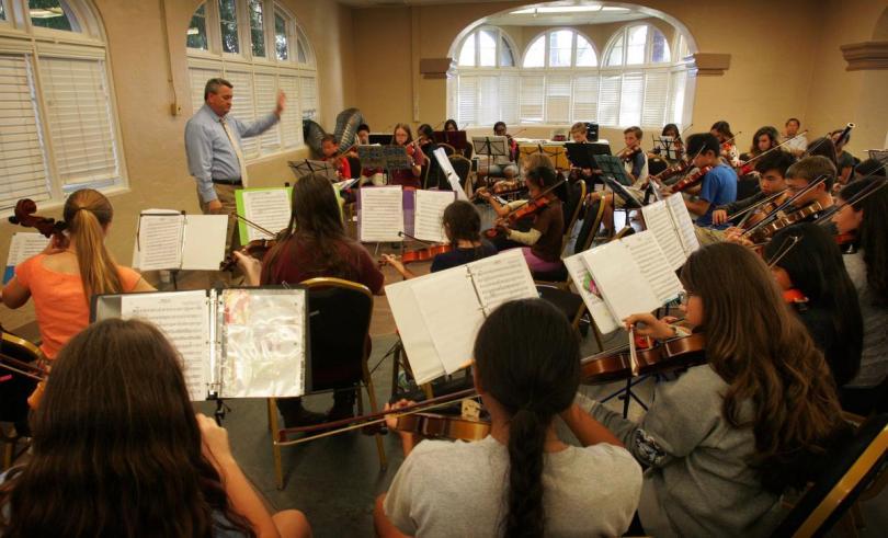 A Look Inside Corona Symphony Conservatory