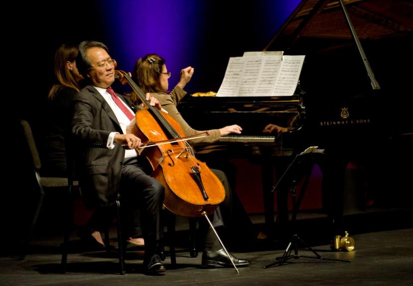 Read more about the article World-famous musician Yo-Yo Ma kicking off national arts program in Corona